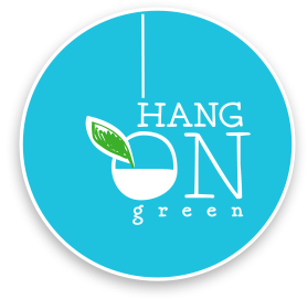 Logo Hang on Green